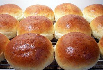 Przepis bułki w piekarniku, pikantne i słodkie. Jak gotować w kapuście?