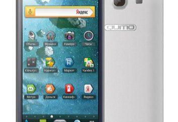 Smartphone Qumo Quest 570: opis, opinie, specyfikacja