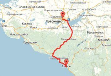 """Trasa """"Krasnodar – Tuapse"""" i sposoby jej przezwyciężenia"""