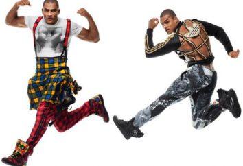 """trendy mody marki """"Adidas"""": stroje sportowe dla mężczyzn"""