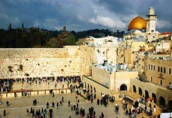 Pared que llora en Jerusalén. Lo piedras llorar?