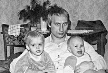 filhas biografia Putin: Maria e Catherine