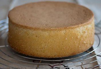 Biscoito de bolo de esponja: receita para bolo luxuriante