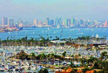 San Diego, California. Attrazioni e foto