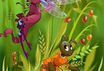 """Fable """"The Ant i Grasshopper"""" (Kryłowa IA): zawartość, bajki Historia i moralność"""
