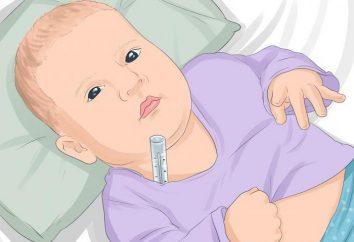 Cosa fare se il bambino ha mal di pancia e una temperatura di 38 ° C?