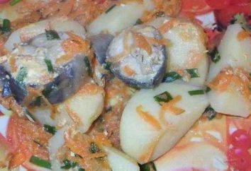 Le poisson avec des oignons et des carottes dans multivarka: délicieuses recettes