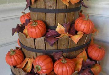 Gâteau d'automne, étape par étape recettes