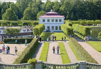 Marly palazzo, Peterhof: la storia, le dimensioni e la foto