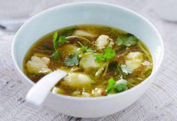 Zuppa Nasello: diverse ricette