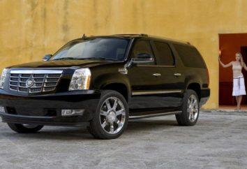 """Cadillac"" (um jipe) – SUV luxo americano"