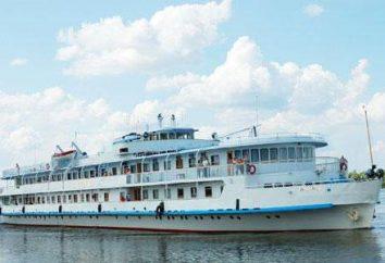 bateau fluvial de passagers « Borodino »: description, les horaires des vols et des avis