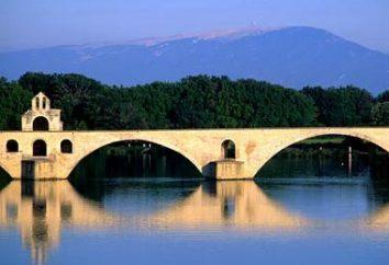 Medieval de Avignon (Francia) – el centro de arte y cultura
