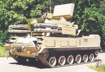 """""""Tunguska"""" (sistema de misiles-gun de defensa aérea): Descripción de las principales características de"""