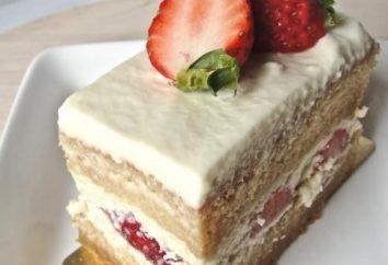 Torta di crema a casa: la cucina diverse opzioni