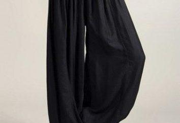 Por lo que usar pantalones de harén