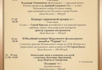 Teatr Opery i Baletu (Sarańsk): historia, repertuar, artystów