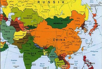 geografia pratico: quali paesi confinanti Russia