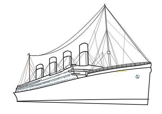 Cómo Dibujar Titanic En Etapas