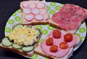 Arten von Sandwiches und deren Herstellung