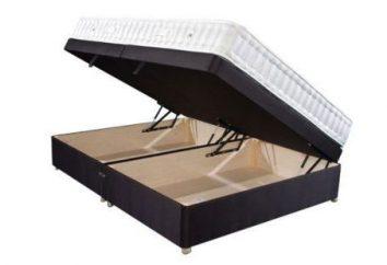 Łóżko-kanapa z mechanizmem podnoszącym: charakterystyka. Jak wybrać meble do małego pokoju?