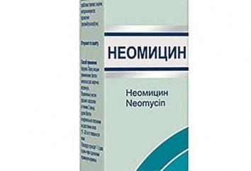 """""""neomicina"""": instruções de uso, descrição, comentários, preço"""