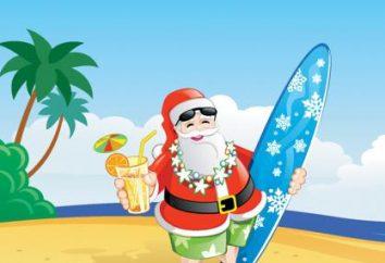 Onde está Papai Noel passa o verão – é interessante a todos!
