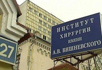 Istituto di Chirurgia. Vishnevsky: storia, descrizione
