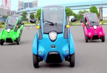 véhicules à trois roues: description, modèle