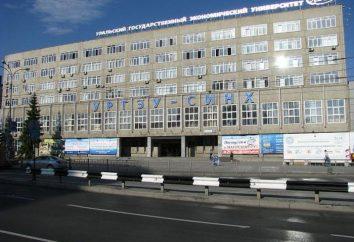 Ural Universidad Estatal de Economía: descripción, los departamentos, los contactos y las revisiones
