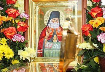 Die Reliquien des St. Luke in Minsk. Wo die Reliquien von St. Luke
