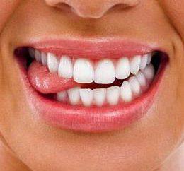 Ele mordeu a língua – o que fazer?
