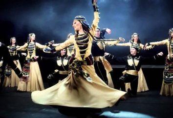 Fiery danse géorgienne