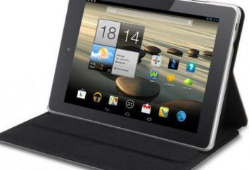 Zakładka Tablet Acer Iconia A1 811: opis i opinie