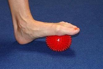 Fisioterapia como um meio de luta com os pés