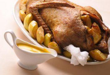 Come cucinare un'anatra con patate al forno per un tavolo festivo?