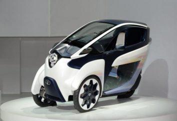 Toyota reveló su visión del coche de la ciudad del futuro