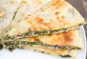 Ossetischen Kuchen mit Rübenblätter: Rezepte und Kochmöglichkeiten