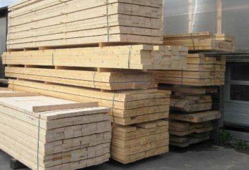 Rodzaje drewna: funkcje, rodzaje, GOST, aplikacyjne