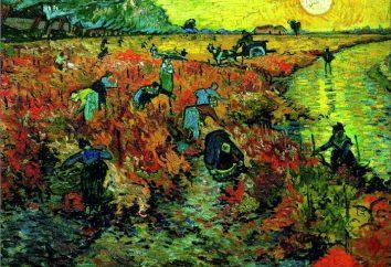 """""""Czerwona winnica"""" Van Gogh – opis, historia tworzenia obrazów i przeznaczenie"""