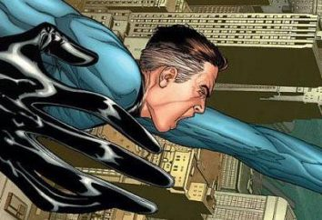 "Superhero Reed Richards. ""Fantastic Four"""