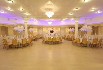 Wie ein Bankettsaal für eine Hochzeit in Moskau wählen