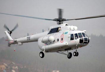 Elicottero di salvataggio EMERCOM della Russia. Pompieri e ambulanza elicotteri MOE