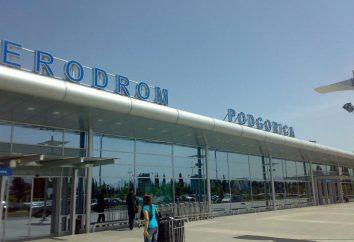 Aeroporto TGD. L'aeroporto internazionale del Montenegro