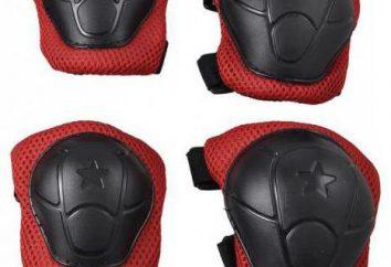 Ochrona kolan i łokci podczas jazdy na rolkach
