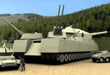 """Tedesco super-heavy tank """"Rat"""". Caratteristiche di P-1000 """"Ratte"""""""