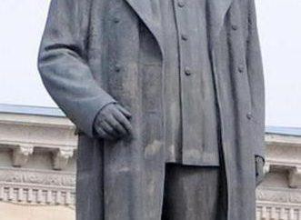 Stalin-Denkmal: Foto und Beschreibung