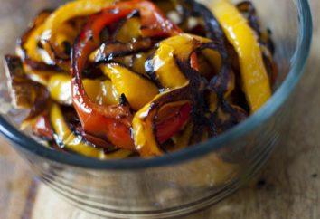 Cucina deliziosi peperoni al forno