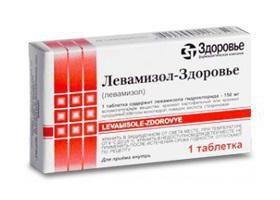 Drug « lévamisole »: avis, instructions d'utilisation, analogues