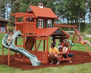 Como fazer uma área recreativa para crianças no país com suas próprias mãos? Idéias e Dicas